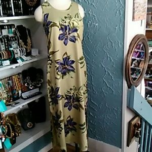 Pre-owned Tommy Bahama Silk Floral Print Dress